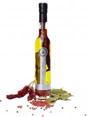 Olio extravergine d'oliva peperoncino, alloro e pepe La Chinata