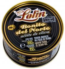 Tonno Alalunga in olio d'oliva Lolin