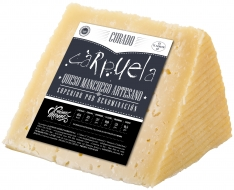 Pezzo di formaggio stagionato D.O. Manchego medio Carpuela
