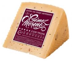Pezzo di formaggio di pecora al tartufo Gómez Moreno