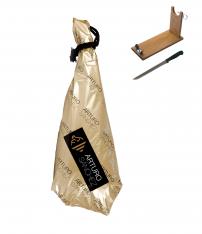 Prosciutto Pata Negra ibérico di ghianda gran riserva Arturo Sánchez + porta prosciutto + coltello
