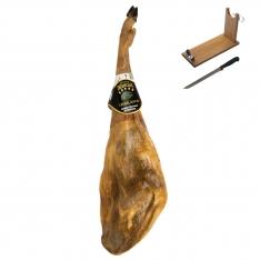 Prosciutto Pata Negra ibérico di ghianda Dehesa Casablanca + porta prosciutto + coltello