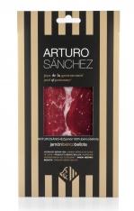 Prosciutto Pata Negra 100% ibérico puro di ghianda gran riserva Arturo Sánchez affettato a mano