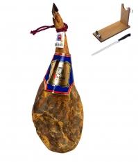 Prosciutto Serrano Naturale D.O. Teruel Jamones Pastor + porta prosciutto + coltello