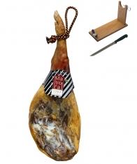 Prosciutto serrano cantina Mayoral + porta prosciutto + coltello