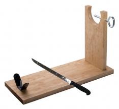 Porta Prosciutto Sgabello Jamonprive e coltello da prosciutto
