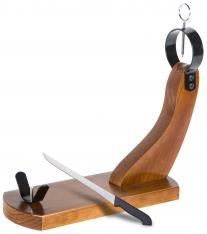 Porta prosciutto Huelva Buarfe e coltello da prosciutto