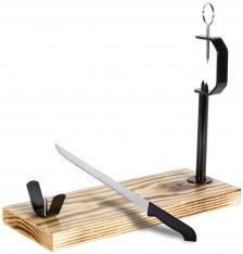 Porta prosciutto Jaén Buarfe e coltello da prosciutto