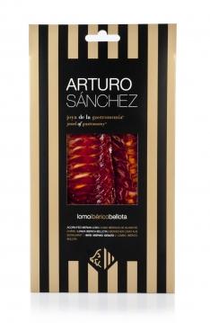 Lonza iberica di ghianda roscal Arturo Sánchez tagliata a mano