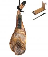 Prosciutto Pata Negra 100% iberico di ghianda (Spalla) Gran Riserva Arturo Sánchez + porta prosciutto + coltello
