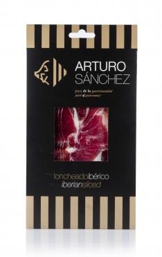 Prosciutto Pata Negra ibérico (Spalla) di mangimeArturo Sánchez affettato