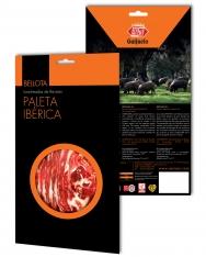 Prosciutto Pata Negra ibérico (Spalla) di ghianda Revisan affettato