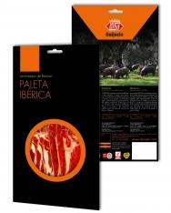 Prosciutto Pata Negra ibérico (Spalla) di mangime di campagna Revisan affettato