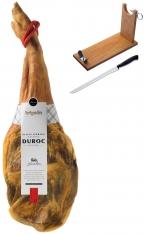 Prosciutto Serrano (Spalla) riserva duroc Artysán + porta prosciutto + coltello