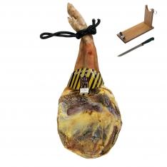 Prosciutto Serrano (Spalla) riserva Mayoral + porta prosciutto + coltello