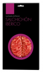 Salame iberico di mangime di campagna Revisan Ibéricos affettato