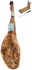 Prosciutto Pata Negra 100% Iberico di ghianda Sánchez Romero Carvajal + porta prosciutto + coltello