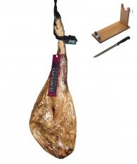 Prosciutto Pata Negra ibérico di mangime Arturo Sánchez + porta prosciutto + coltello