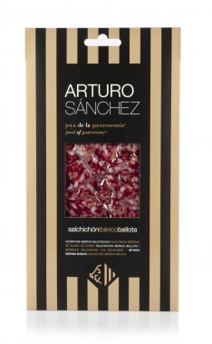 Salame iberico di ghianda gran riserva Arturo Sánchez tagliato a mano